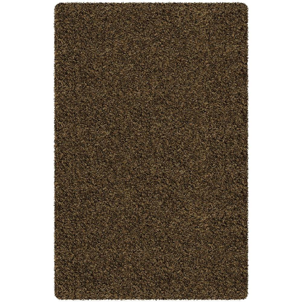 Core Shag Tan/Brown/Black 7 ft. 9 in. x 10 ft. 6