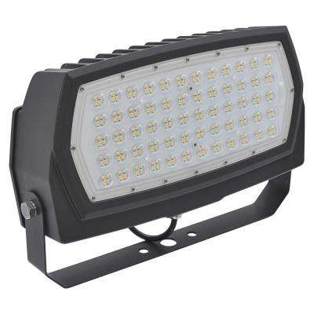600-Watt Equivalent 200-Watt Bronze Outdoor Integrated LED Large Landscape Flood Light 120-277V Yoke DayLight 99676