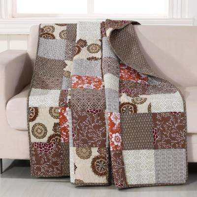 Stella Multi Quilted Cotton Throw