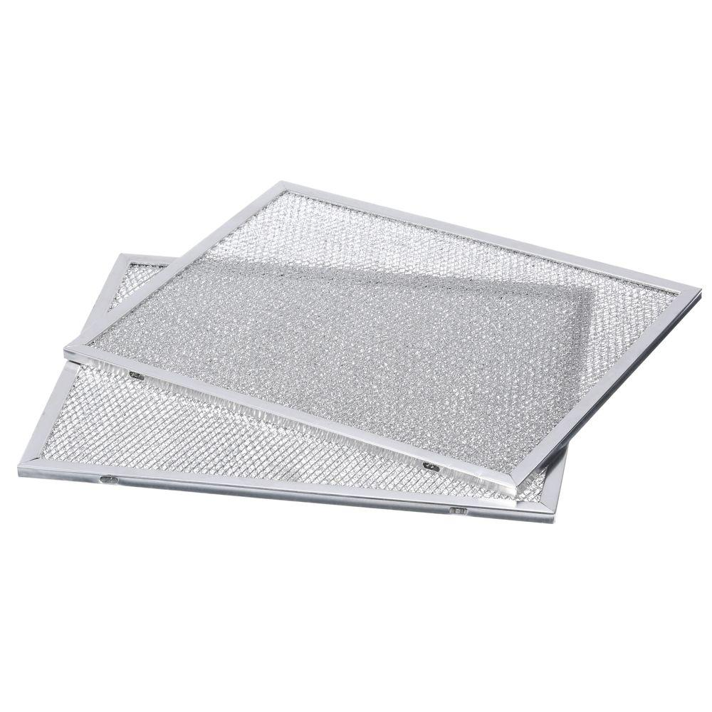 Elegant Range Hood Externally Vented Aluminum Replacement Filter (2