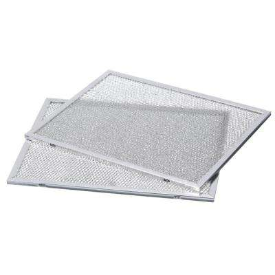 Allure 1 Series 30 in. Range Hood Externally Vented Aluminum Replacement Filter (2 each)
