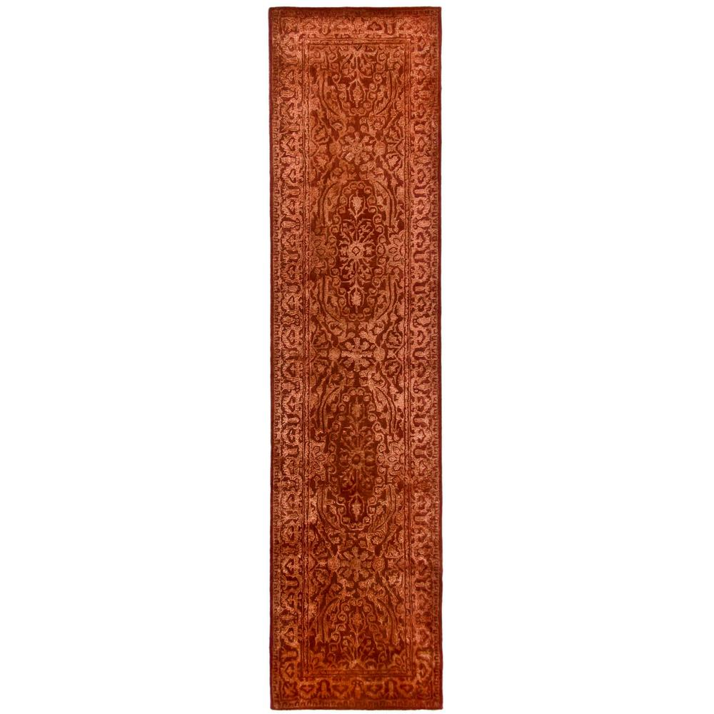 Safavieh Silk Road Rust 2 ft. 6 in. x 12 ft. Rug Runner