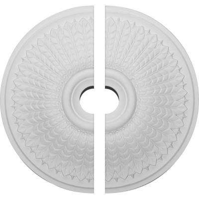 23-1/2 in. O.D. x 3-1/2 in. I.D. x 3-1/2 in. P Modena Ceiling Medallion (2-Piece)