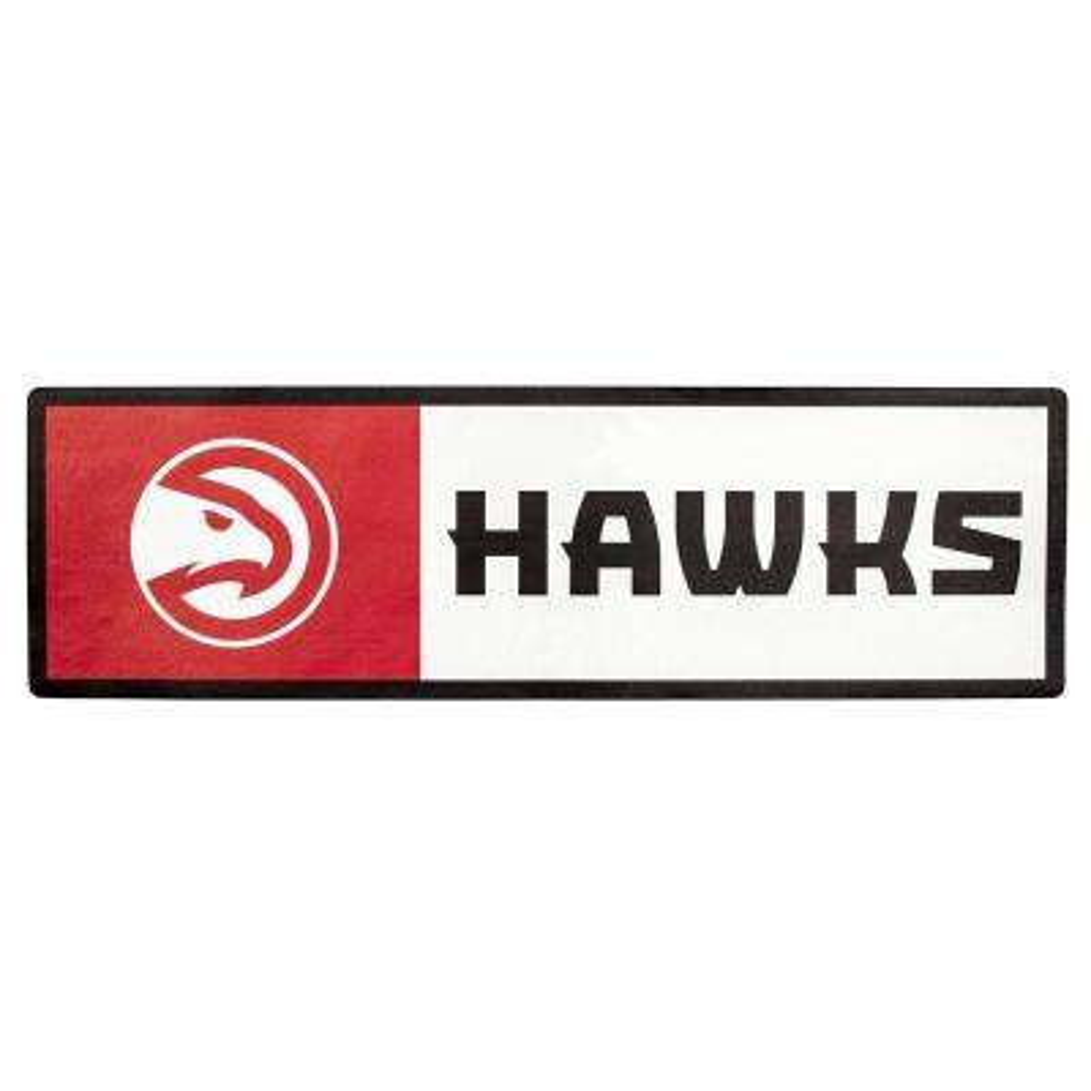 NBA Atlanta Hawks Outdoor Step Graphic