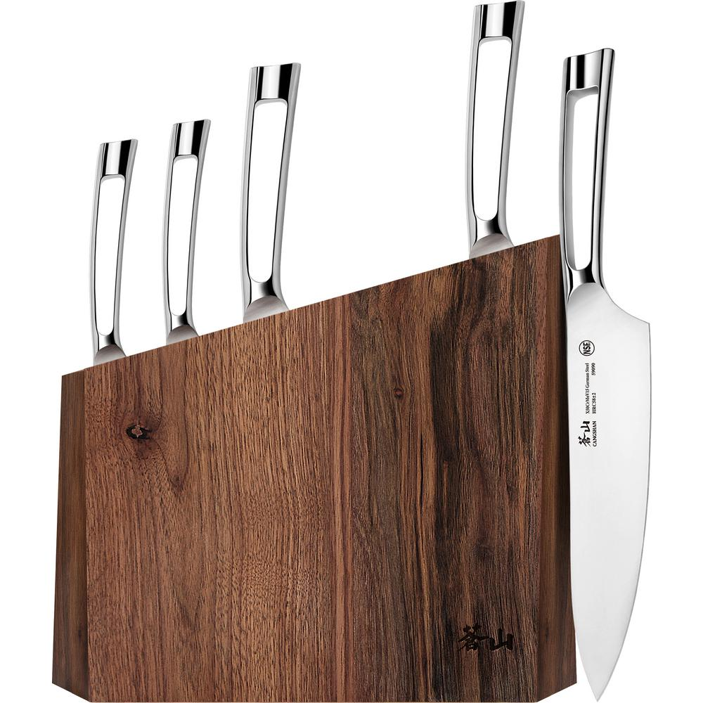 N1 Series 6-Piece German Steel Forged Knife Block Set
