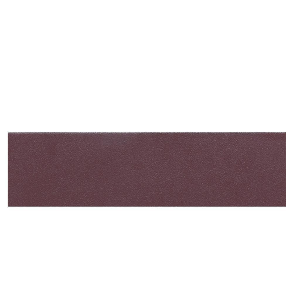 Daltile Colour Scheme Berry Solid 3 in. x 12 in. Porcelain Bullnose Floor and Wall Tile