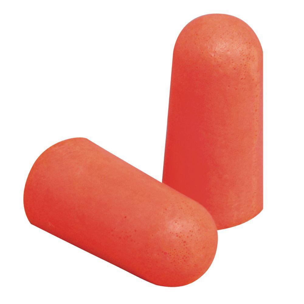 Orange Disposable Earplugs (7-Pack) (Case of 20)