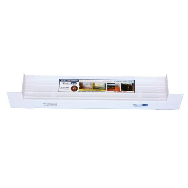3-1/4 in. x 78 in. Sloped Sill Pan for use on Vinyl Sliding Door and Window Installation and Flashing