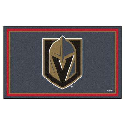 NHL - Vegas Golden Knights 4 ft. x 6 ft. Ultra Plush Area Rug