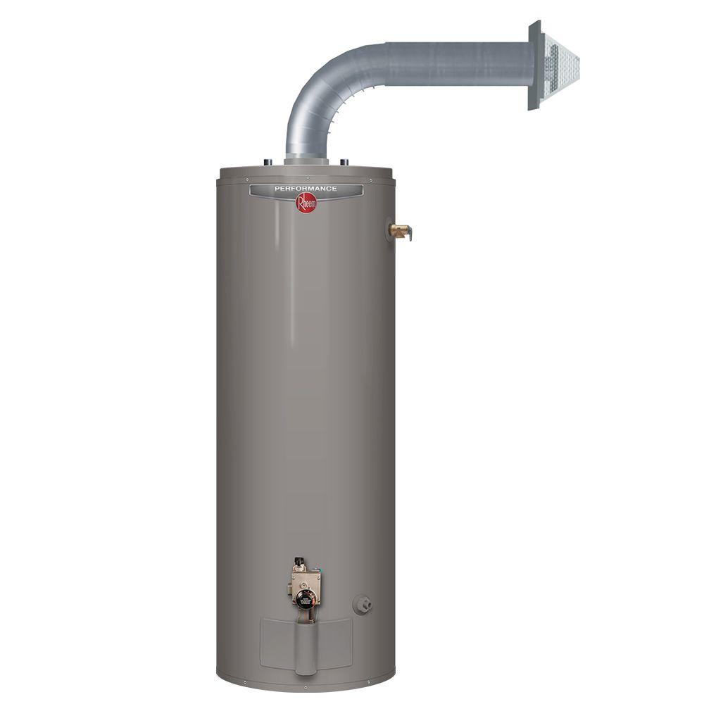 rheem direct vent water heater. rheem performance 50 gal. tall 6 year 36,000 btu natural gas direct vent water heater home depot