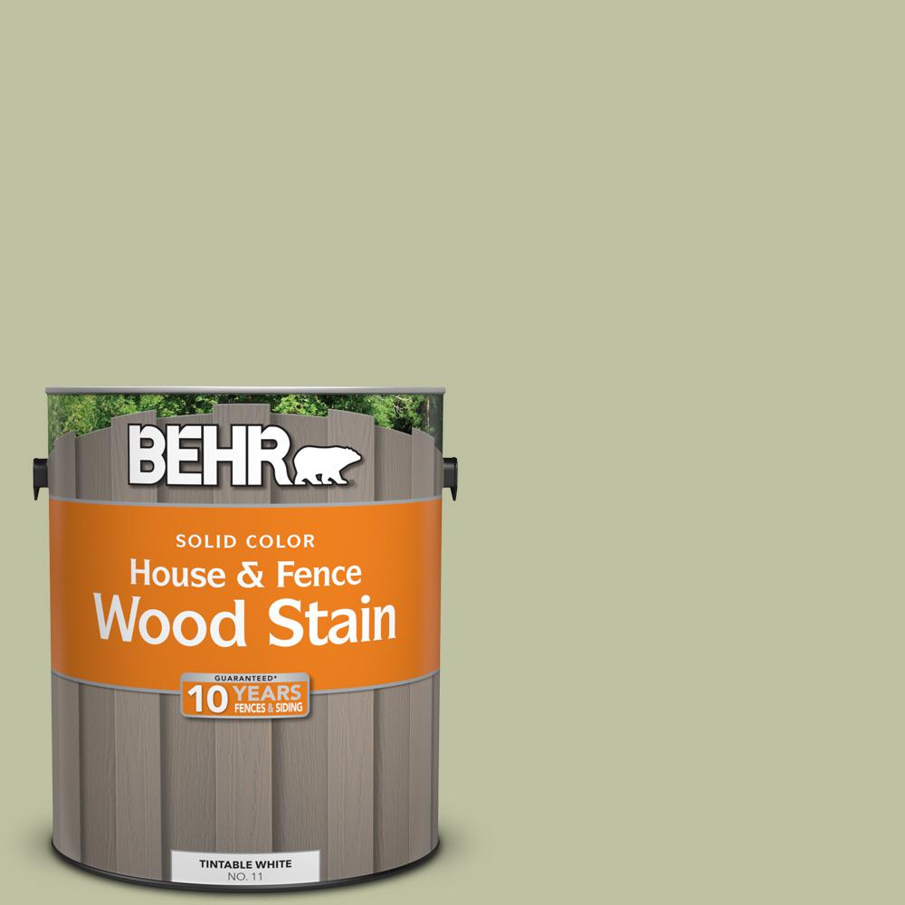 1 gal. #S370-3 Sage Brush Solid House and Fence Wood Stain