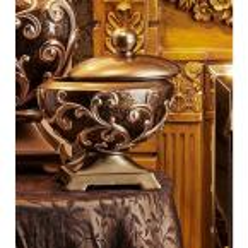 10.5 in. Odysseus Baroque Jewelry Box