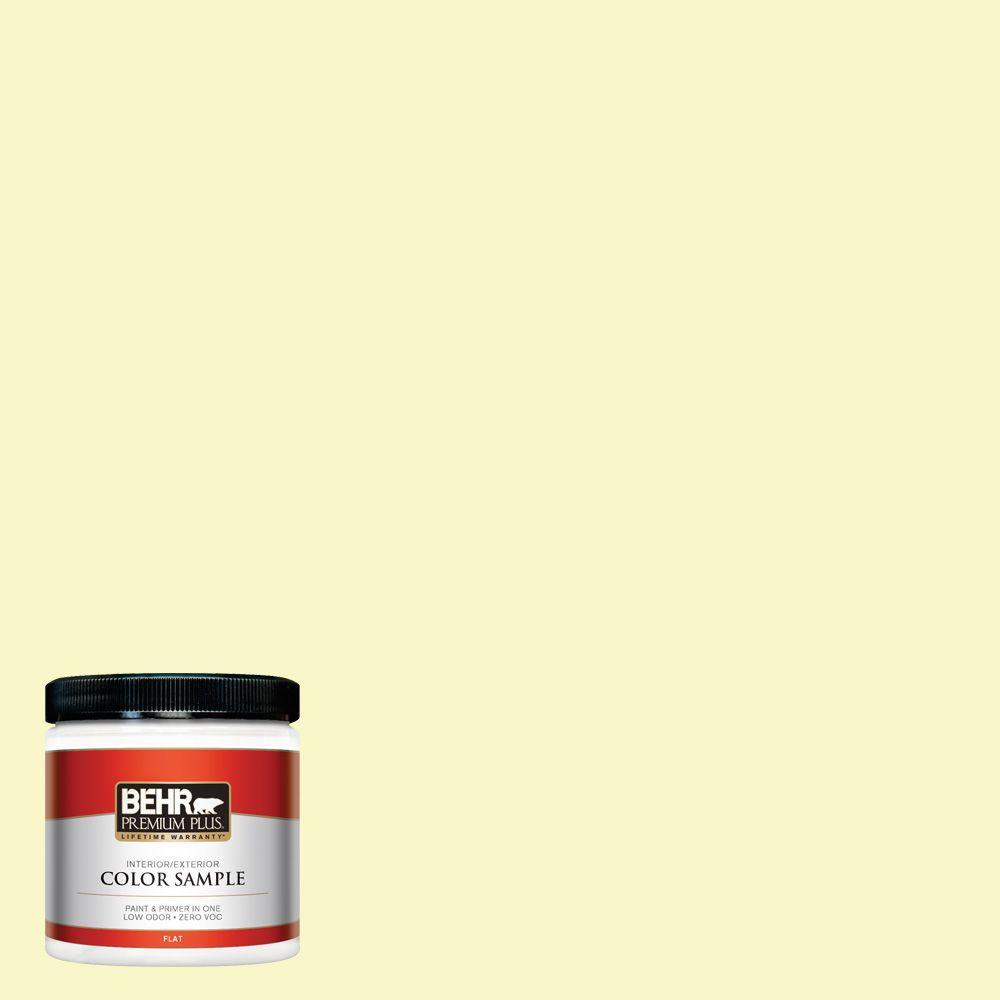 BEHR Premium Plus 8 oz. #PPL-20 Dancing Butterfly Zero VOC Interior/Exterior Paint Sample