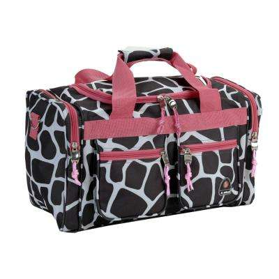 Rockland Freestyle 19 in. Tote Bag, Pinkgiraffe