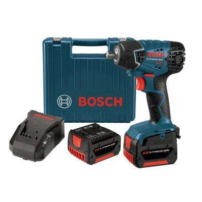 14.4-Volt Lithium-Ion 1/2 in. Cordless Impact Wrench Kit