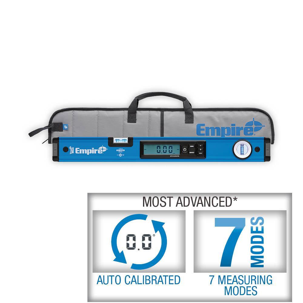 24 in. True Blue Digital Box Level with Case