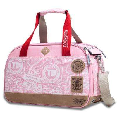 Pink Airline Approved Around-The-Globe Passport Designer Pet Carrier