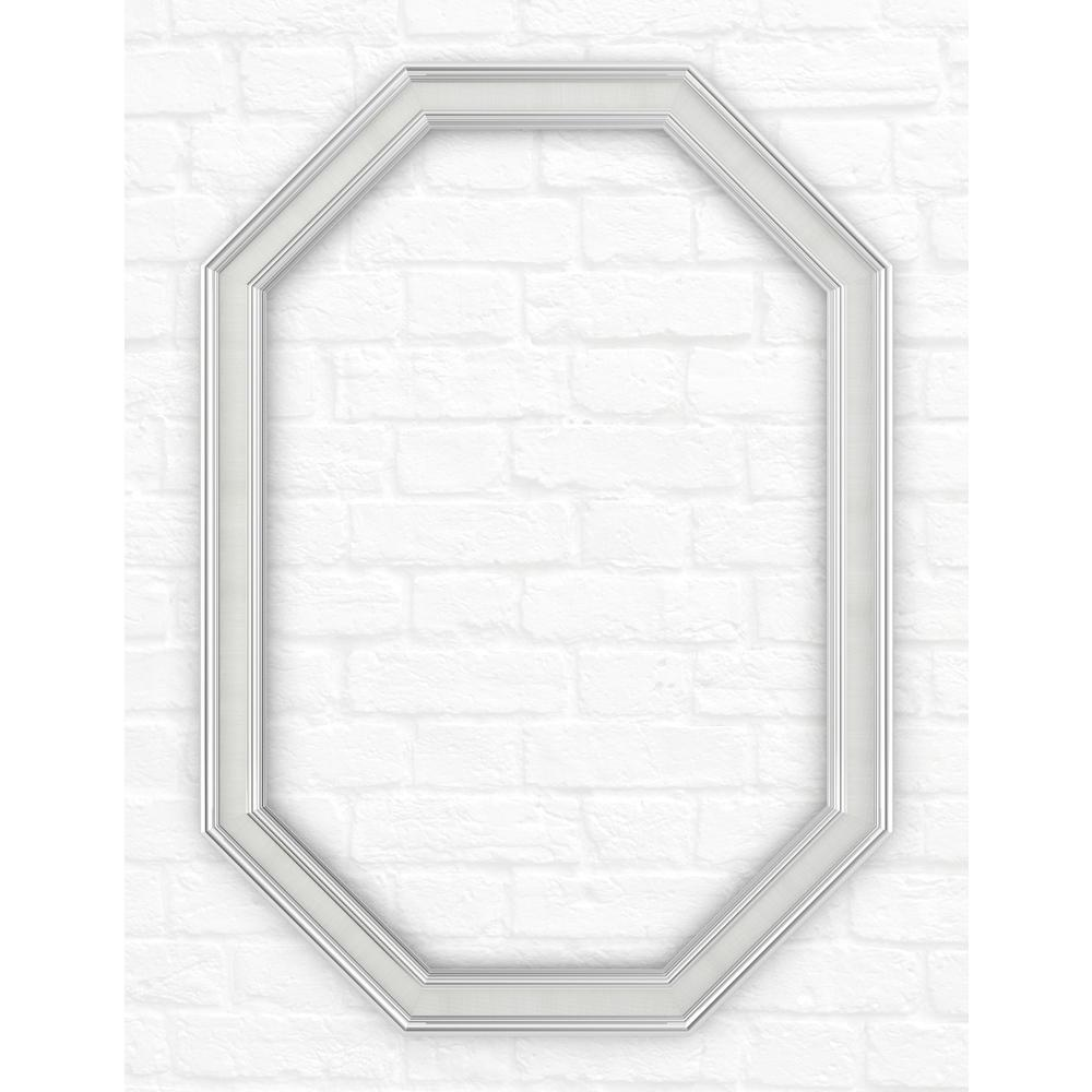 33 in. x 46 in. (L3) Octagonal Mirror Frame in Classic