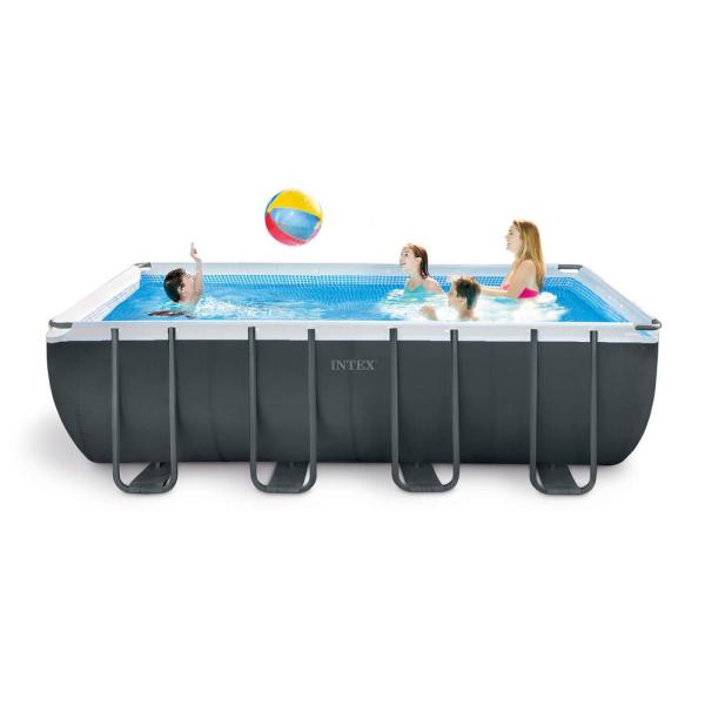 Intex ultra 18 39 x 9 39 x 52 xtr rectangular frame swimming - Intex 18 x 9 x 52 ultra frame swimming pool ...