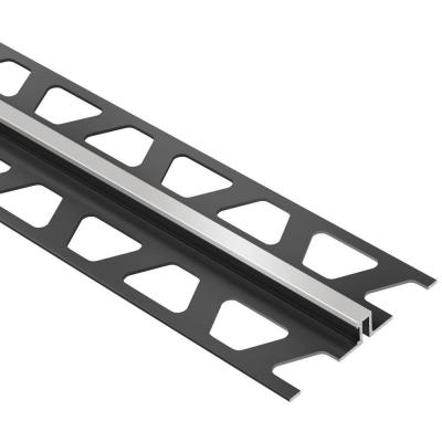 Dilex-BWS Classic Grey 3/8 in. x 8 ft. 2-1/2 in. PVC Movement Joint Tile Edging Trim