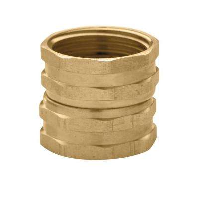 3/4 in. x 3/4 in. Brass Hose Swivel