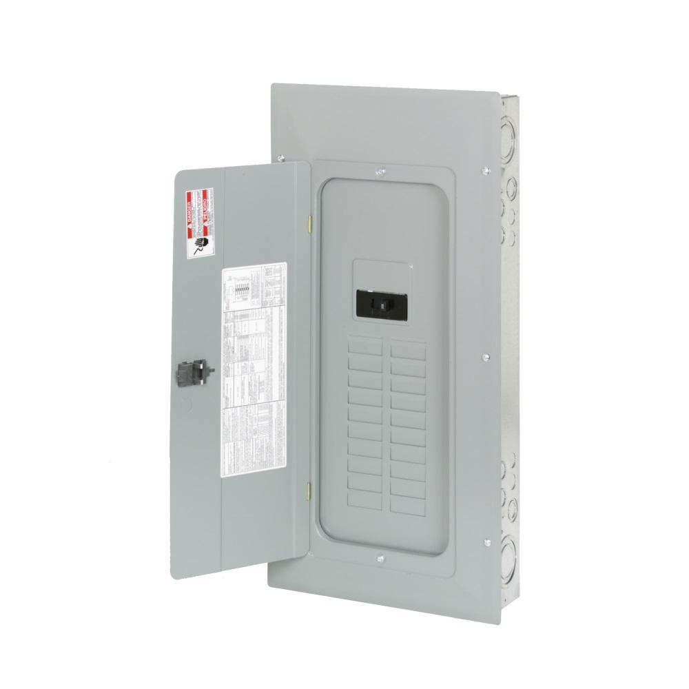 Eaton Cutler Hammer Ch12l125b Single Phase Main Lug Load: Square D Homeline 200 Amp 30-Space 60-Circuit Indoor Main