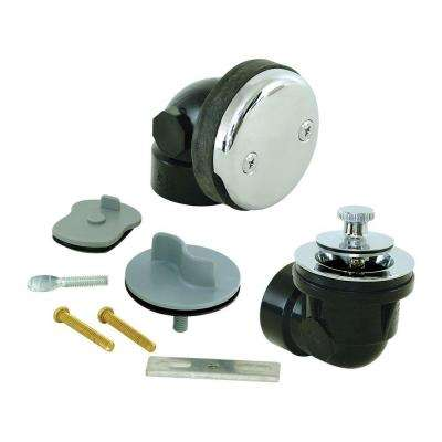 1-1/2 in. Sch. 40 ABS 1-Hole Bath Waste with Test Kit