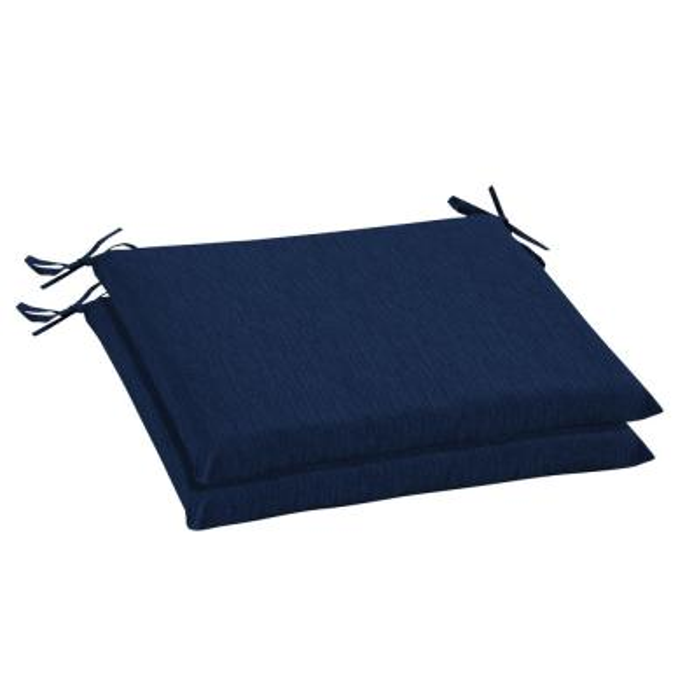 20 x 18 Sunbrella Spectrum Indigo Outdoor Chair Cushion (2-Pack)