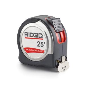 Ridgid 25 ft. x 1 inch Model 625 Locking Steel Tape Measure by RIDGID