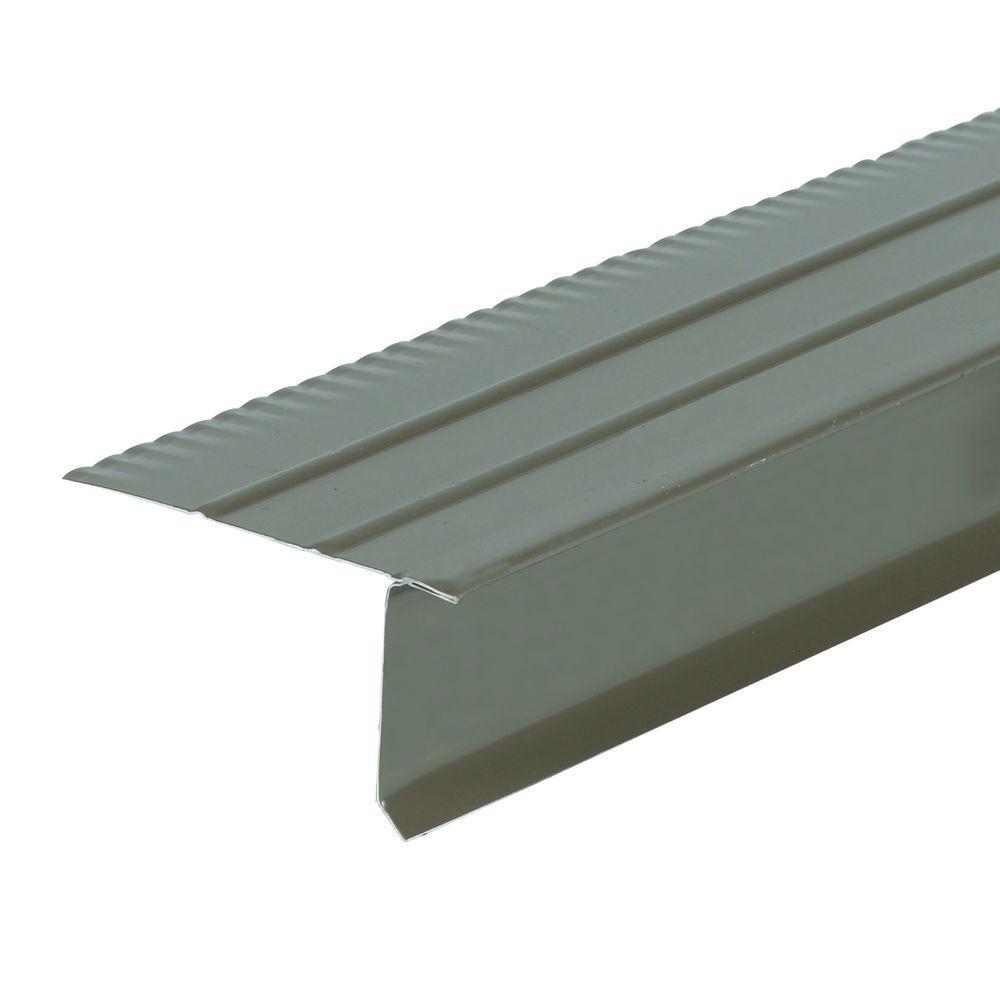 F5M 2.33 in. x 1.5 in. x 10 ft. Aluminum Bronze Drip Edge Flashing