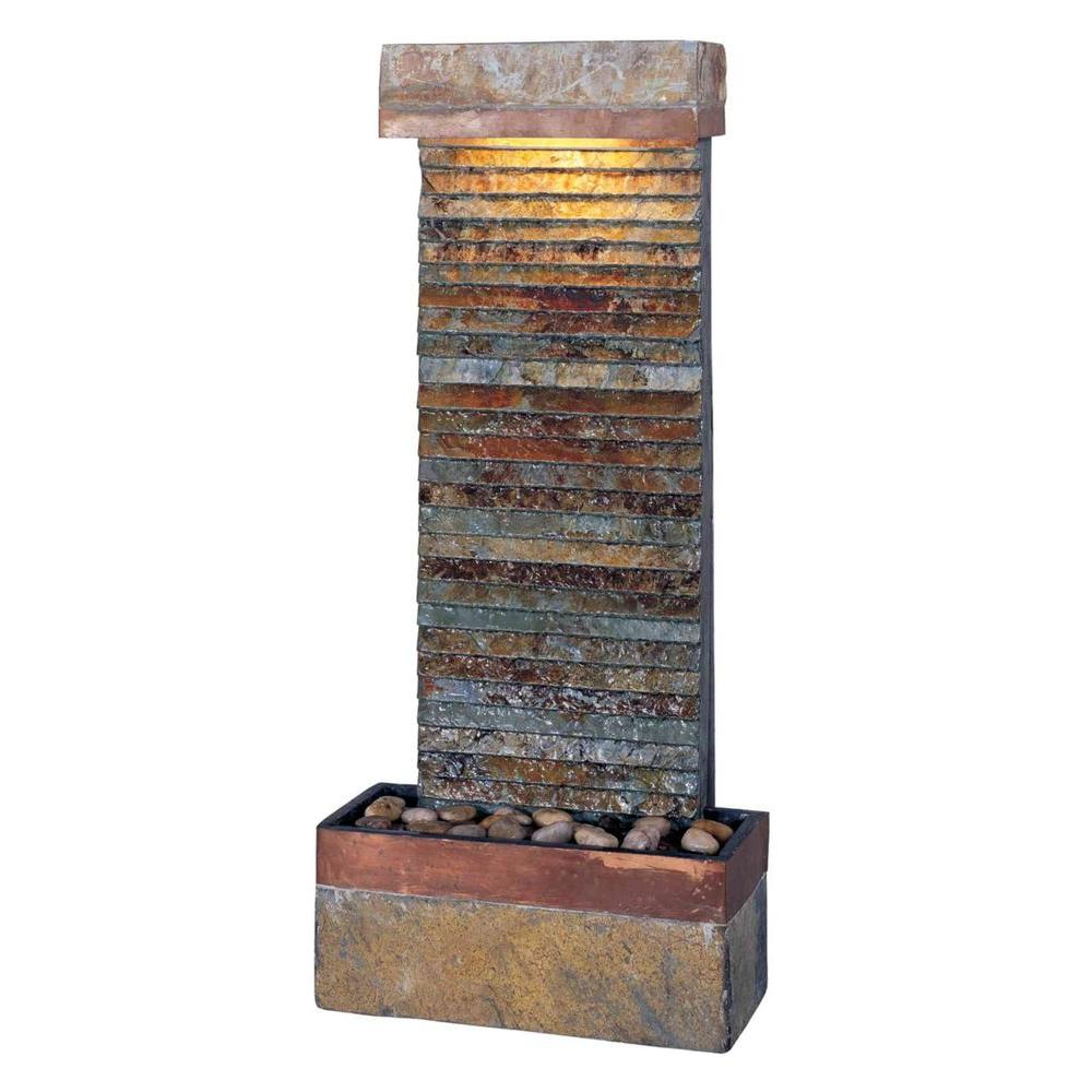 Kenroy Home Tacora Horizontal Lighted Indoor Fountain