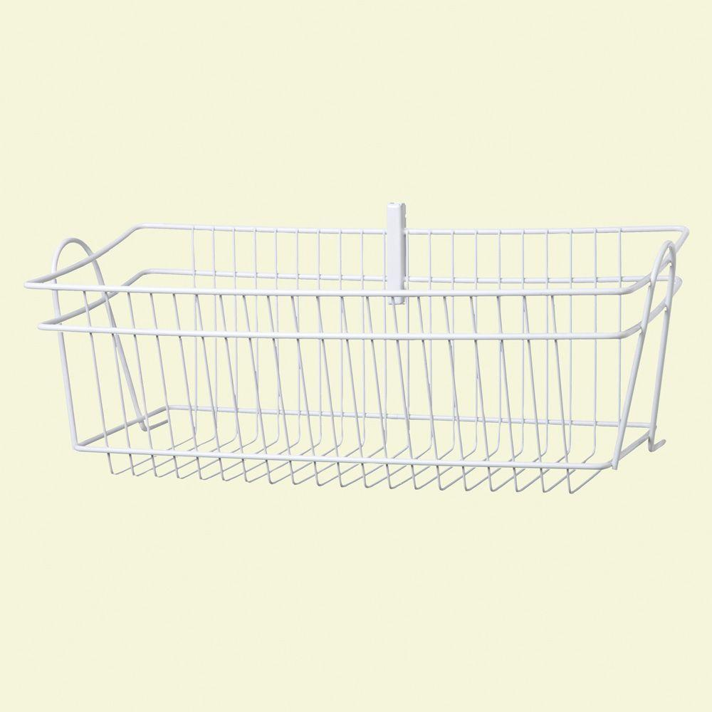 Amazing ClosetMaid ShelfTrack 8 In. H Wire Basket