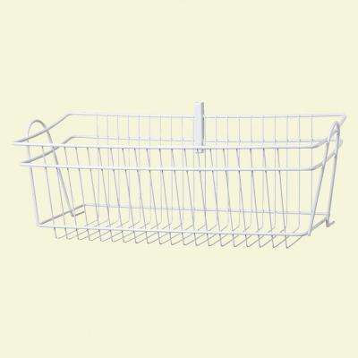 ShelfTrack 8 in. H Wire Basket
