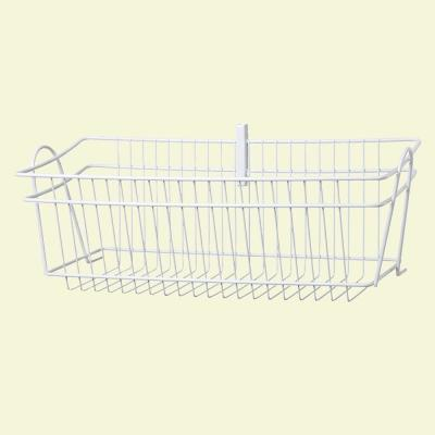 ShelfTrack 19.5 in. x 8.4 in. Wire Basket