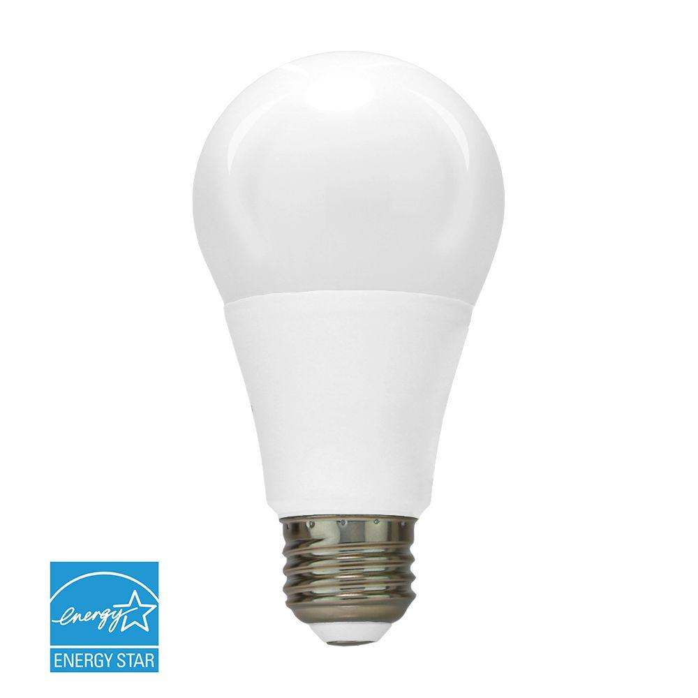 60W Equivalent Warm White A19 Dimmable LED Light Bulb (2-Pack)