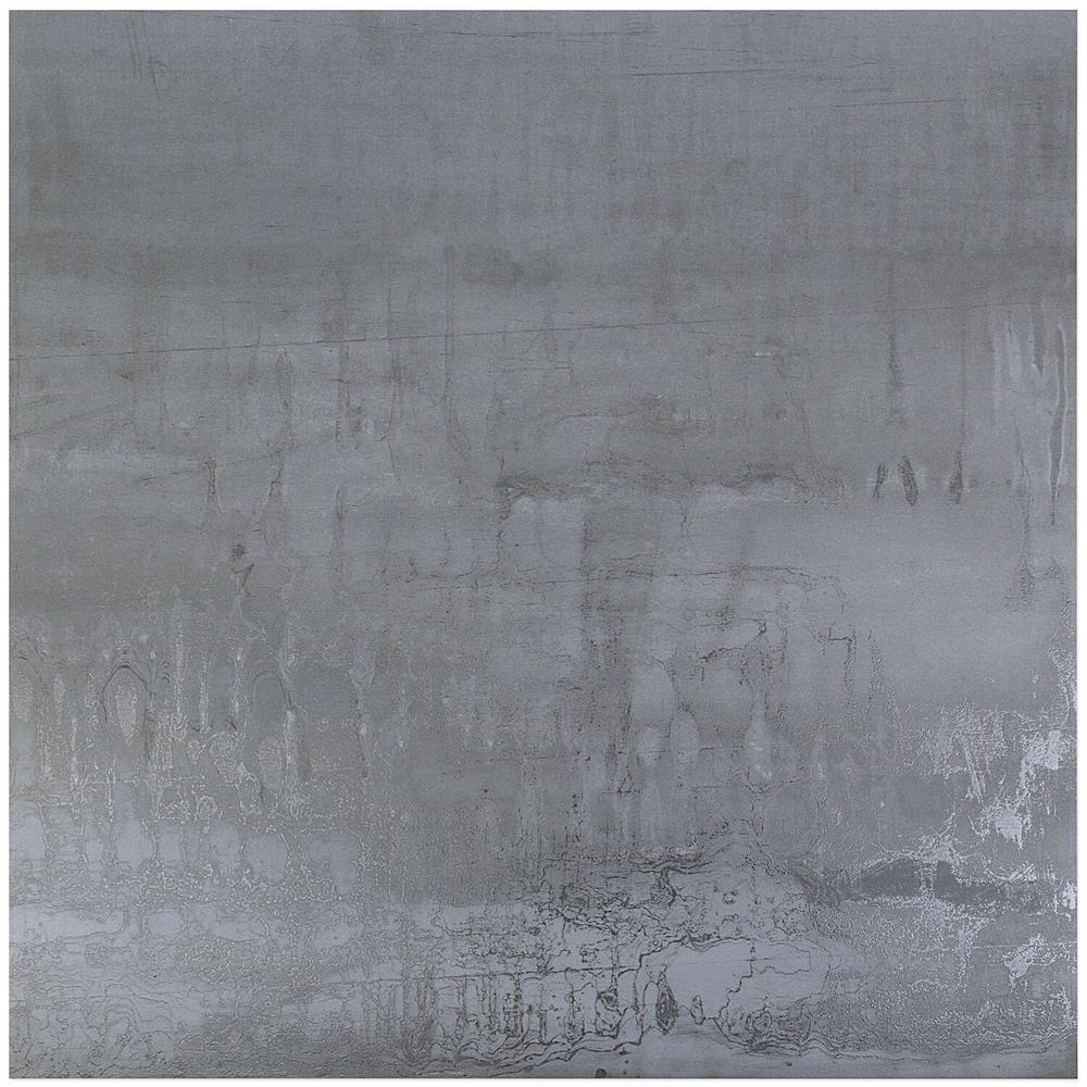 Ivy Hill Tile Metallic Light Gray 24 In X 24 In X 8mm