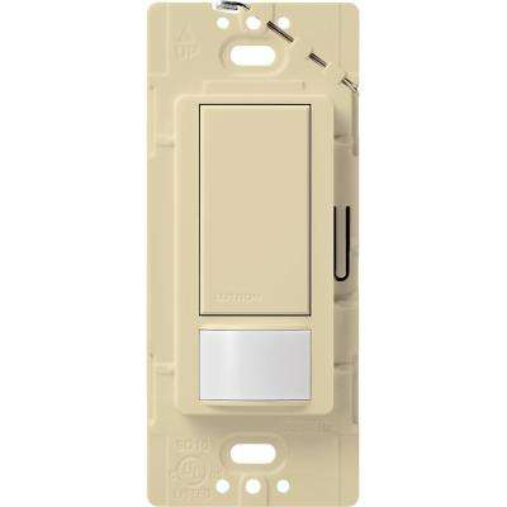 Maestro Vacancy Sensor switch, 2-Amp, Single-Pole, Ivory