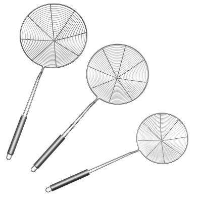 Stainless Steel Skimmers (Set of 3)