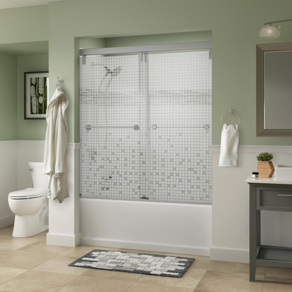 Frameless Bathtub Doors Bathtubs The Home Depot