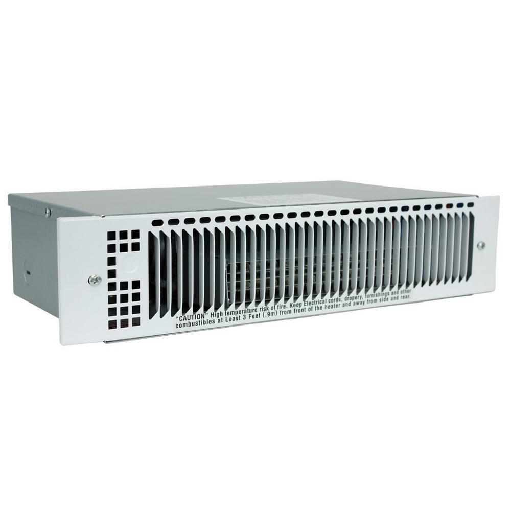 KT 120-Volt 1500-Watt Multi-Watt Electric Kick Space Heater, White