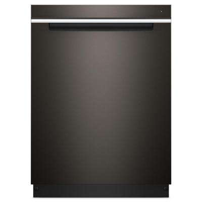 Top Control Built-In Tall Tub Dishwasher in Fingerprint Resistant Black Stainless with Stainless Steel Tub, 47 dBA
