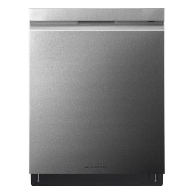 Top Control Built-In Tall Tub Smart Dishwasher with Wi-Fi Enabled in Textured Steel, ENERGY STAR, 38 dBA