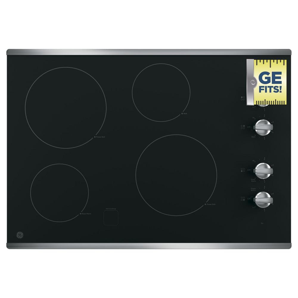 Ge 30 In Radiant Electric Cooktop