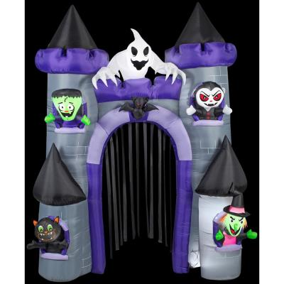 9 ft. H Archway-Haunted Castle Halloween Inflatable