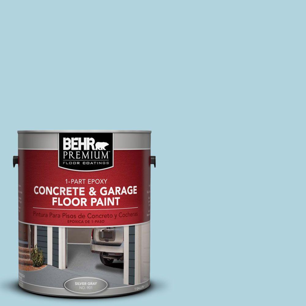 BEHR Premium 1-Gal. #PFC-56 Pools of Blue 1-Part Epoxy Concrete and Garage Floor Paint