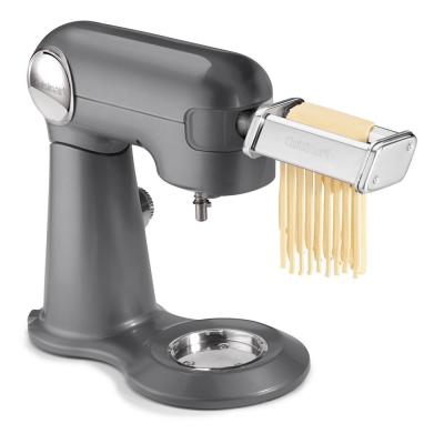 5.5 Qt. Stainless Steel Pasta Roller and Cutter Attachment Cuisinart Stand Mixer