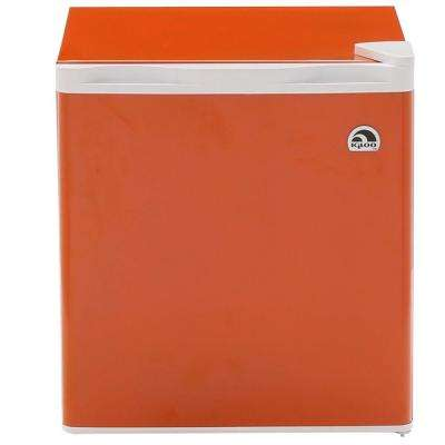 1.6 cu. ft. Mini Refrigerator in Orange