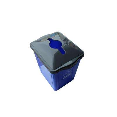 15 Gal. Recycling Box with Square Paper Slot Recycling Top