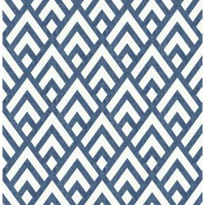 Kanoko Indigo Vinyl Strippable Roll (Covers 30.75 sq. ft.)