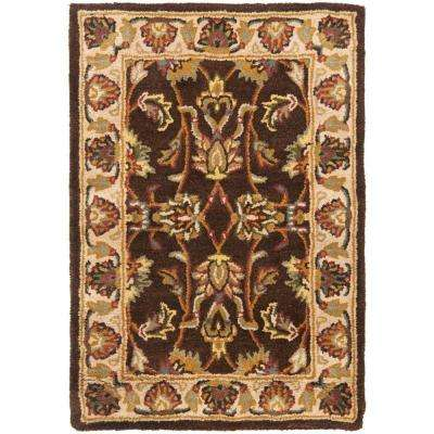 Heritage Brown/Ivory 3 ft. x 5 ft. Area Rug